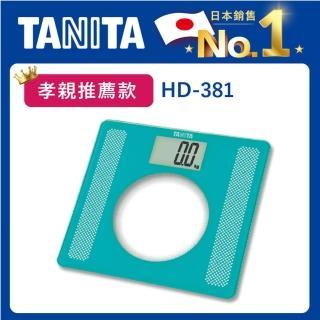 【TANITA】透明拼接電子體重計(HD-381)