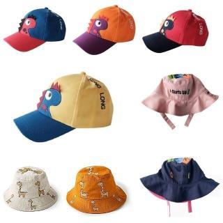 【Baby 童衣】兒童帽子 防曬遮陽帽 雙面童帽 漁夫帽 棒球帽 88278(共9色)