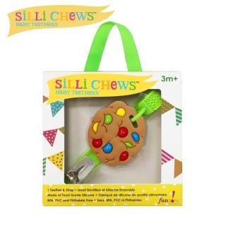 【silli chews】迷你餅乾夾帶咬牙器