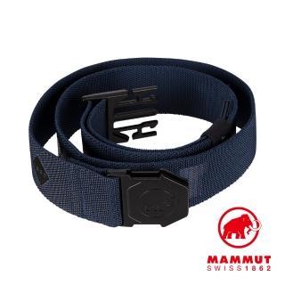【Mammut 長毛象】Alpine Belt 輕量編織腰帶 海洋藍 #1192-00080
