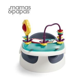 【Mamas & Papas】二合一育成椅含玩樂盤v2-潛艇藍