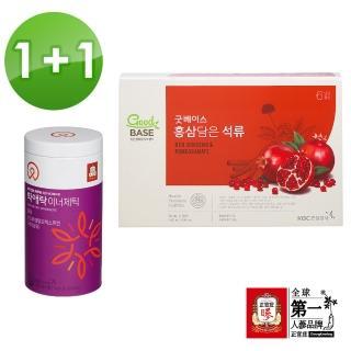 【正官庄】高麗蔘石榴精華飲STICK 30入+和愛樂 蔘纖凍20包