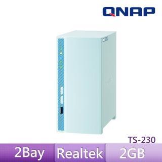 【QNAP 威聯通】TS-230 2BAY 網路儲存伺服器