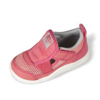 【Combi】日本Combi童鞋- 2020全新鉅作-兒童成長機能涼鞋(C01PI粉-寶段12.5~18.5cm)