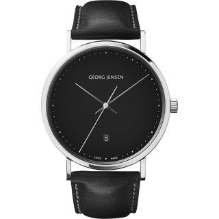 【Georg Jensen 喬治傑生】KOPPEL 石英腕錶-41mm(3575711)