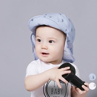 【橘魔法】腳踏車印花遮陽帽(防曬布可拆.2用)帽子 圓帽 防曬帽(橘魔法 Baby magic 兒童 嬰兒 小童)