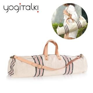 【yogiTalki】法國日光旅行 天然棉質瑜伽墊收納桶袋