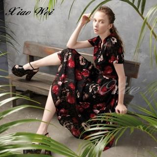 【CHENG DA】專櫃精品春夏款時尚短袖洋裝(NO.511302)