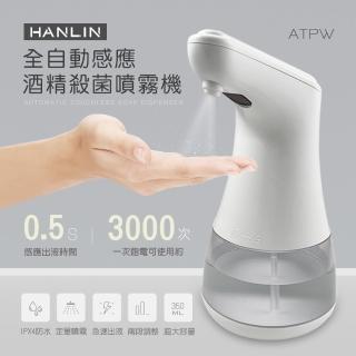 【HANLIN】全自動感應酒精殺菌淨手噴霧機/