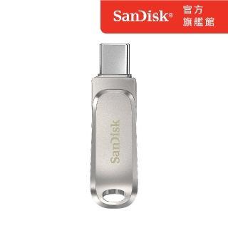 【SanDisk 晟碟】Ultra Luxe USB Type-C 64GB 雙用隨身碟(公司貨)
