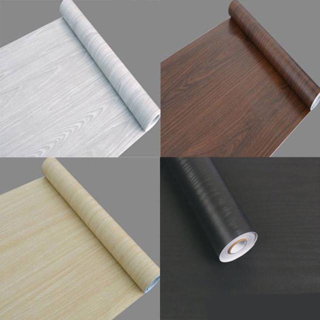 仿木紋PVC自黏式