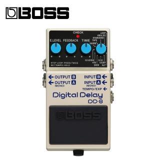 【BOSS】DD-8 Delay 效果器(原廠公司貨 商品保固有保障)