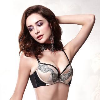 【La Felino 羅絲美】金箭奇蹟3/4無縫泡棉款B-E罩杯內衣 - 裸膚金