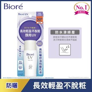 【Biore 蜜妮】高防曬控油隔離乳液 SPF50+/ PA++++(30ml)