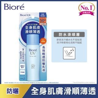 【Biore 蜜妮】長效輕透防曬乳液 SPF50+/ PA++++(40ml)