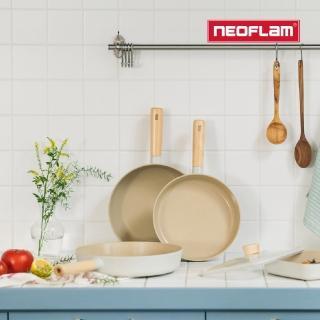 【NEOFLAM】FIKA鑄造不沾鍋三鍋組(IH、電磁爐適用)