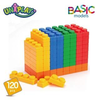 【UNiPLAY】抗菌軟積木BASIC 120入