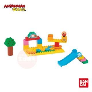 【ANPANMAN 麵包超人】轉轉公園齒輪積木組
