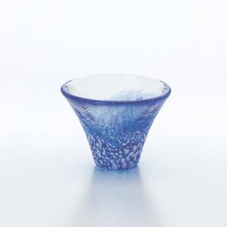 【東洋佐佐木】TSG富士山酒杯_藍