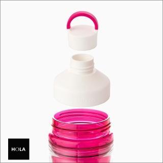 【HOLA】SANTECO Ocean 590ml雙層隨手瓶-莓果紅