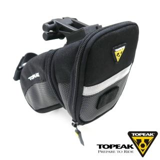 【TOPEAK】Aero Wedge Pack 快卡式安裝系統快拆式座墊袋-中型
