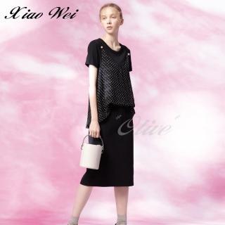 【CHENG DA】專櫃精品春夏款時尚短袖洋裝(NO.511531)