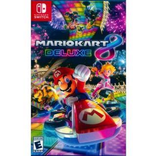 【Nintendo 任天堂】NS Switch 瑪利歐賽車 8 豪華版 中英日文美版(Mario Kart 8 Deluxe)