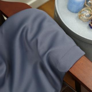 【生活工場】Pure純色窗簾110x165 灰藍