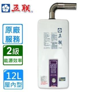 【五聯】ASE-5882 屋內大廈型強制排氣熱水器(12L)