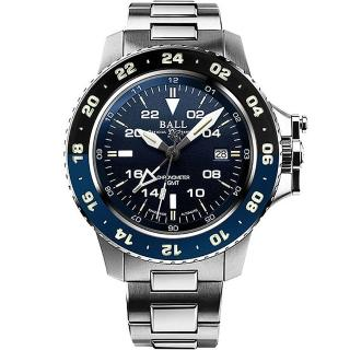 【BALL 波爾】Engineer GMT II機械錶(DG2018C-S10C-BE)