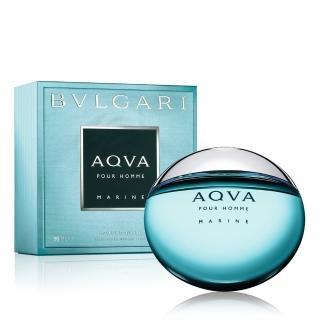 【BVLGARI 寶格麗】AQVA 活力海洋能量男性淡香水50ml(原廠公司貨)
