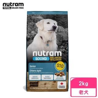 【Nutram 紐頓】S10均衡健康系列-雞肉+燕麥老犬 2kg/4.4lb