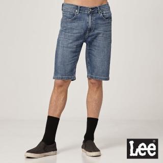 【Lee】902 男牛仔短褲-淺藍洗水