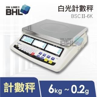 【BHL 秉衡量】高精度1/30000LCD白光液晶計數秤BSCII-6K(BSCII-6K)