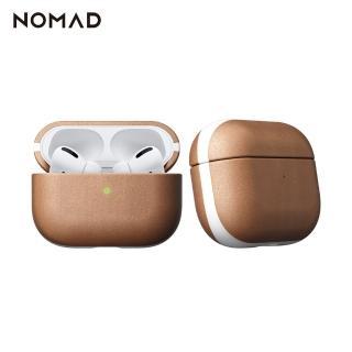 【美國NOMAD】xHORWEEN AirPods Pro專用皮革保護收納盒-自然原色(真皮製作)