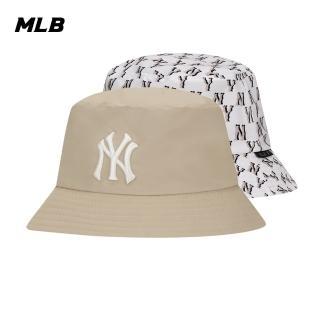 【MLB】老花雙面花色系列紐約洋基隊漁夫帽(32CPH4011-50B)