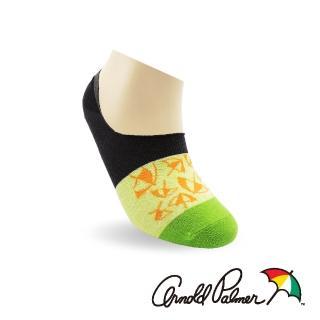 【Arnold Palmer】撞色清涼防滑淺口隱形男襪-中灰(隱形襪/ 男襪)