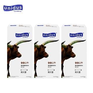 【unidus】優您事 動物系列保險套-99公牛-持久型 12入(12入*3盒)
