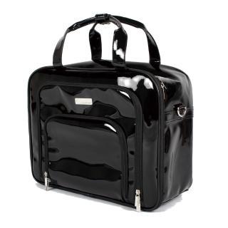 【Galatea 葛拉蒂】百變行動化妝箱暨旅行箱-黑