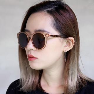 【OT SHOP】太陽眼鏡 墨鏡 中性復古造型大圓框 W60(韓系文藝文青氣質自拍外拍時尚)