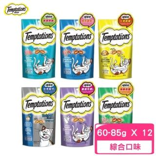 【TEMPTATIONS 喵愛餡】貓餡餅 85g(12入組)