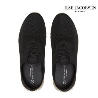 【ILSE JACOBSEN】女鞋 運動鞋 ADEA4072輕量運動鞋-黑(丹麥皇室品牌)