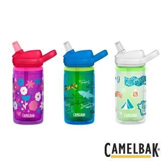【CAMELBAK】eddy 兒童吸管雙層隔溫運動水瓶 400ml(水杯/水壺/補水/戶外/露營)