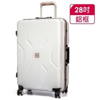 【MOMJAPAN】28吋新型PP材質鋁框行李箱(RU-M3002-28)