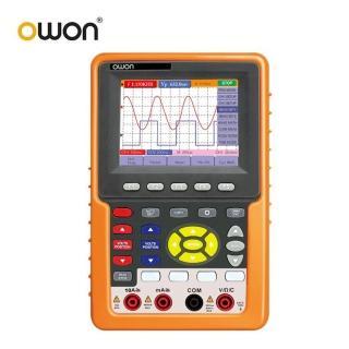 【OWON】手持式100MHz單通道數位示波器/萬用表/頻率計三合一 HDS3101M-N(示波器 萬用表 頻率計)