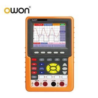 【OWON】手持式100MHz雙通道示波器/萬用表/頻率計三合一 HDS3012M-N(示波器 萬用表 頻率計)