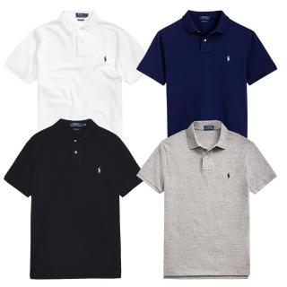 【RALPH LAUREN】小LOGO經典POLO衫(4色可選S-2XL)