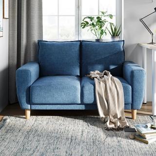 【hoi! 好好生活】林氏木業北歐小戶型布沙發LS075-獨家3款選