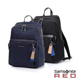 【Samsonite RED】BELLECA 簡約輕巧設計筆電後背包14(兩色可選)
