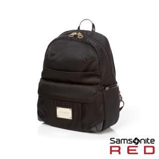 【Samsonite RED】LIGHTILO輕量流行設計款後背包S(黑)